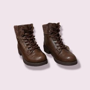 🍂 🎃 Fur Lined Call It Spring Combat Boots